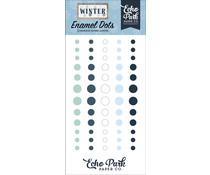 Echo Park Winter Enamel Dots (WTR257028)