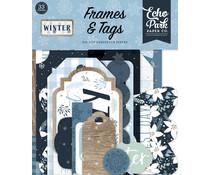Echo Park Winter Frames & Tags (WTR257025)