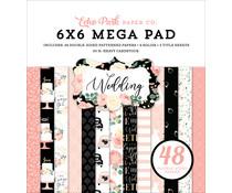 Echo Park Wedding 6x6 Inch Cardmakers Mega Pad (WED258031)