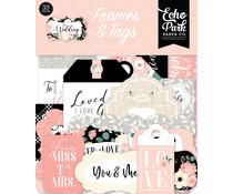 Echo Park Wedding Frames & Tags (WED258025)