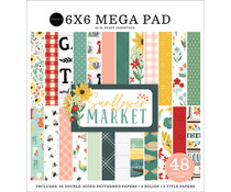 Carta Bella Sunflower Market 6x6 Inch Cardmakers Mega Pad (CBSUN144031)