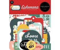 Carta Bella Sunflower Market Ephemera (CBSUN144024)