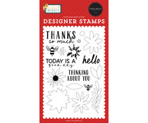 Carta Bella Today Is A Good Day Clear Stamps (CBSUN144040)