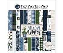 Carta Bella Welcome Winter 6x6 Inch Paper Pad (CBWW142023)