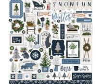 Carta Bella Welcome Winter Element Sticker (CBWW142014)