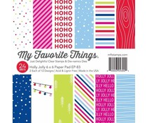 My Favorite Things Holly Jolly 6x6 Inch Paper Pack (EP-83)