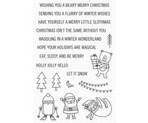 My Favorite Things Snow Globe Singles Clear Stamps (CS-611)