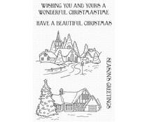 My Favorite Things Season's Greetings Clear Stamps (CS-602)