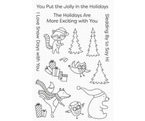 My Favorite Things Put the Jolly in the Holidays Clear Stamps (CS-612)