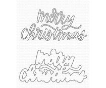 My Favorite Things Merry Christmas Die-namics (MFT-2116)