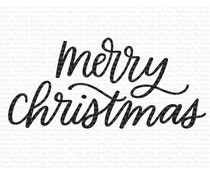 My Favorite Things Merry Christmas Clear Stamps (CS-614)