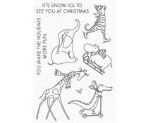 My Favorite Things Christmas Safari Clear Stamps (CS-590)