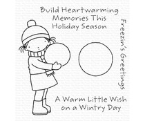 My Favorite Things Freezin's Greetings Clear Stamps (PI-327)