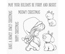 My Favorite Things Furry and Bright Clear Stamps (TI-011)