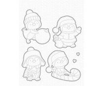 My Favorite Things It's Penguining to Look a Lot Like Christmas Die-namics (MFT-2101)