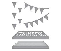 Spellbinders Open House Thankful Etched Dies (S2-322)