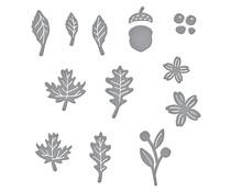 Spellbinders Mini Fall Blooms Etched Dies (S2-321)