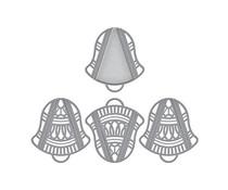 Spellbinders Silver Bells Dimensional Doily Etched Dies (S4-1130)