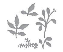 Spellbinders Winterberry and Mistletoe Etched Dies (S4-1113)