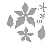 Spellbinders Poinsettia Etched Dies (S4-1109)