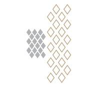 Spellbinders Diamonds Glimmer Hot Foil Plate & Die (GLP-292)