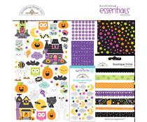 Doodlebug Design Happy Haunting 12x12 Inch Essentials Kit (7447)
