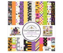 Doodlebug Design Happy Haunting 12x12 Inch Paper Pack (7444)