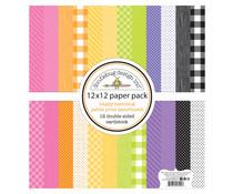 Doodlebug Design Happy Haunting 12x12 Inch Petite Prints Paper Pack (7445)
