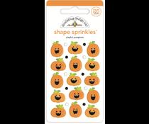 Doodlebug Design Playful Pumpkins Shape Sprinkles (7411)