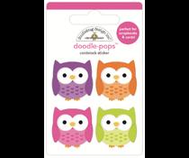 Doodlebug Design Happy Owl-o-ween Doodle-Pops (7418)