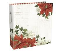 Simple Stories SN@P! Designer Binder 6x8 Inch Simple Vintage Rustic Christmas (16030)