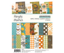 Simple Stories Simple Vintage Country Harvest 6x8 Inch Paper Pad (16319)