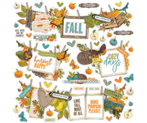 Simple Stories Simple Vintage Country Harvest Banner Sticker (16302)