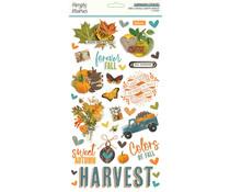 Simple Stories Simple Vintage Country Harvest Chipboard (16320)