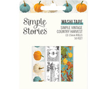 Simple Stories Simple Vintage Country Harvest Washi Tape (16329)