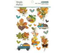 Simple Stories Simple Vintage Country Harvest Sticker Book (16323)