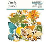 Simple Stories Simple Vintage Country Harvest Harvest Bits (16322)