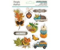 Simple Stories Simple Vintage Country Harvest Layered Stickers (16327)