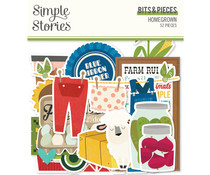 Simple Stories Homegrown Bits & Pieces (16216)