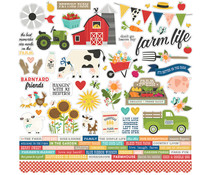 Simple Stories Homegrown Cardstock Sticker (16201)
