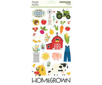 Simple Stories Homegrown Chipboard (16215)