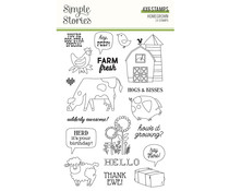 Simple Stories Homegrown Clear Stamps (16223)