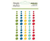 Simple Stories Homegrown Enamel Dots (16221)