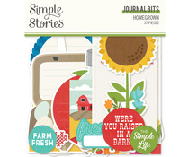 Simple Stories Homegrown Journal Bits (16217)