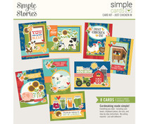 Simple Stories Simple Cards Kit Just Chicken In (16226)