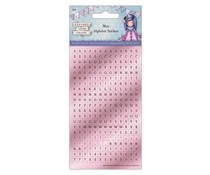 Gorjuss Birthday Mini Foil Alphabet Stickers (GOR 828100)