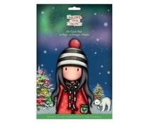Gorjuss Christmas A4 Craft Pad (GOR 160905)