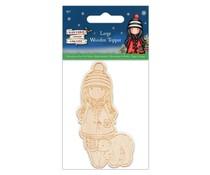Gorjuss Christmas Large Wooden Topper (GOR 359901)