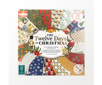 First Edition Twelve Days of Christmas 8x8 Inch Paper Pad (FEPAD243X21)