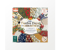 First Edition Twelve Days of Christmas 6x6 Inch Paper Pad (FEPAD244X21)